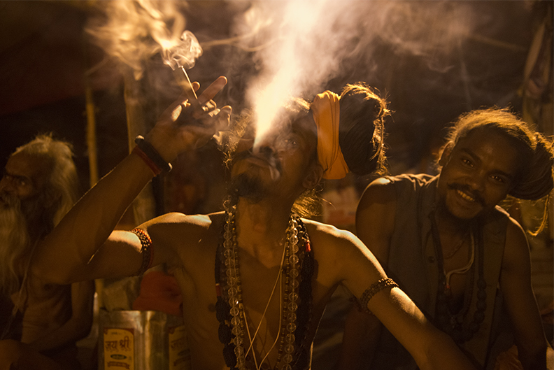 Sadhu Smoke