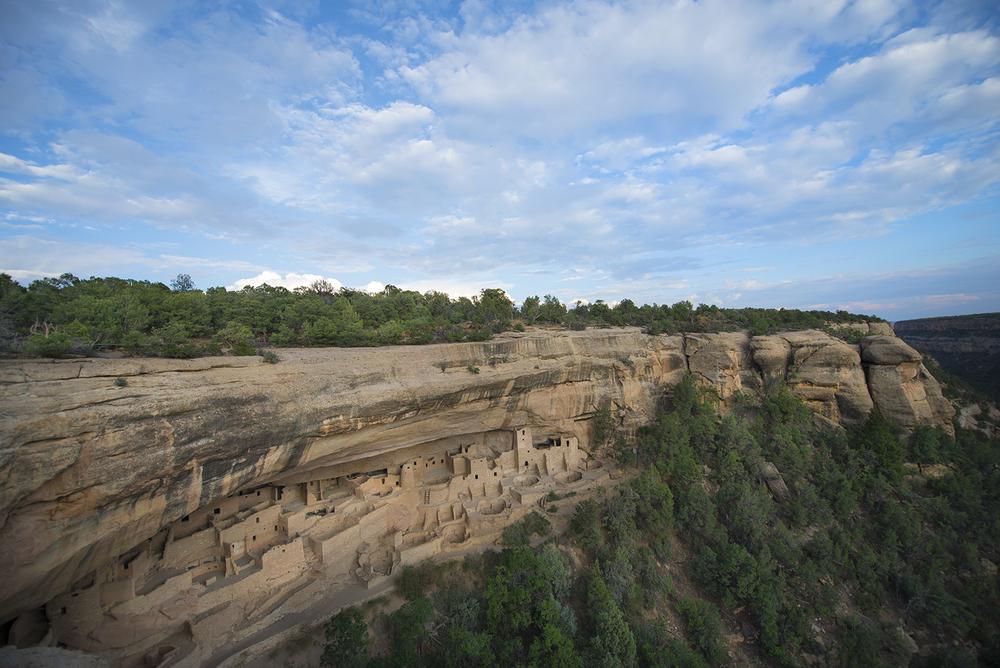 Cliff Palace. . . Mesa Verde, Colorado