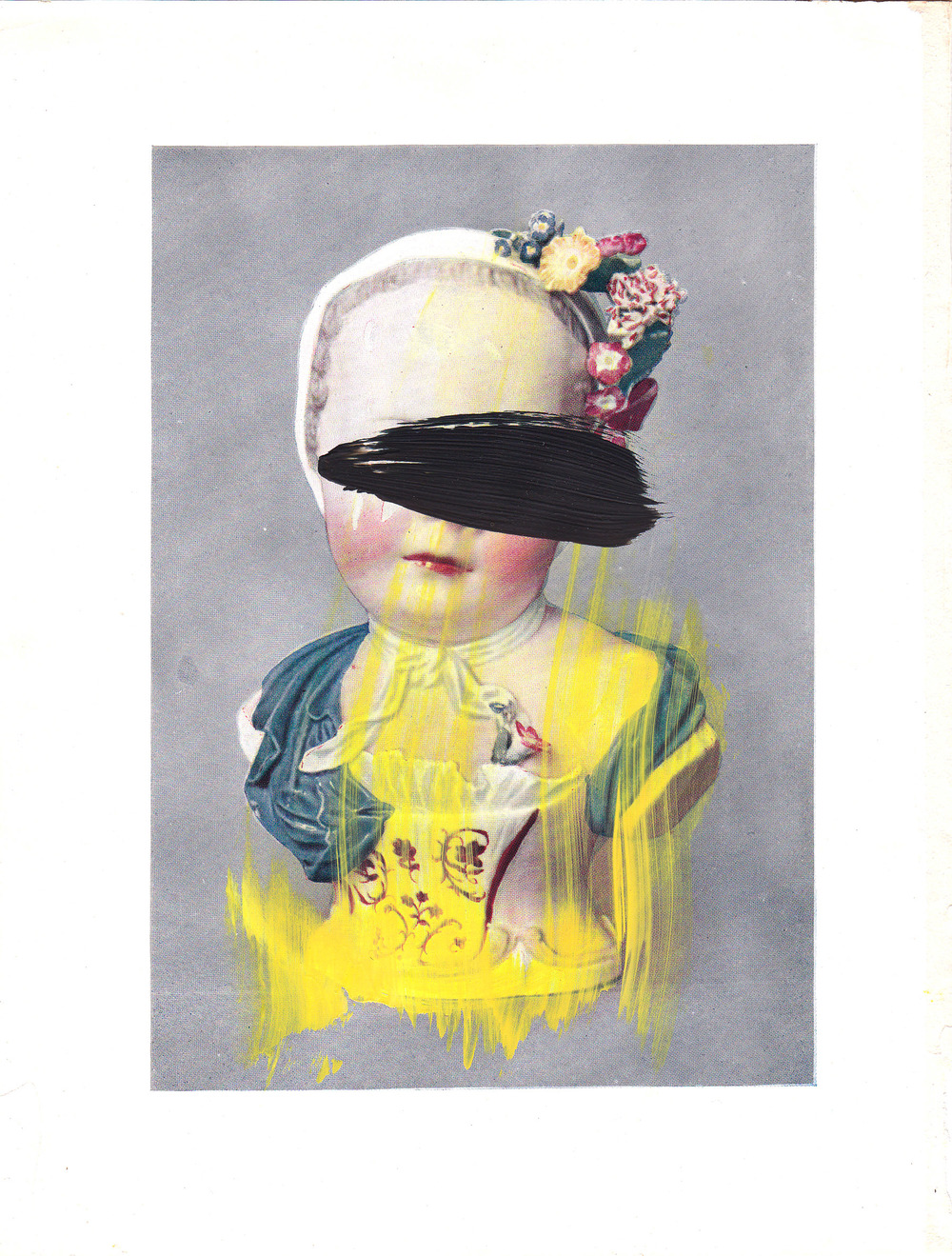 Caroline Pedler Desire 15 x 21 cm  acrylic on paper  £ 425