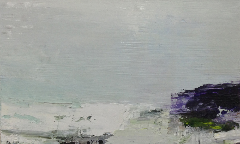 Gareth Edwards RWA Porthmeor Beach, January 50 x 30 cm oil on canvas £ 1450