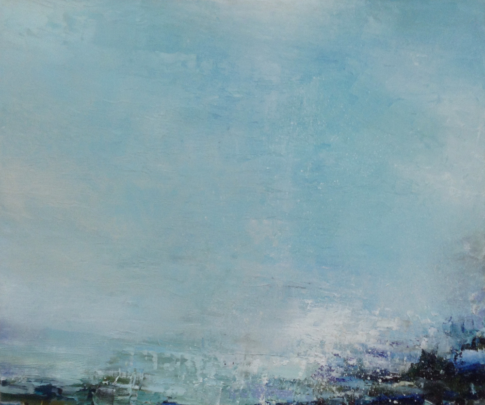 Gareth Edwards RWA Wilder Shores of Love 2 60 x 50 cm oil on board £ 2250