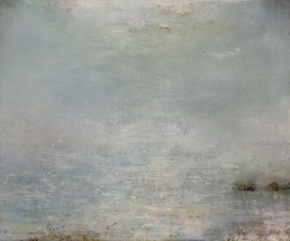 Gareth Edwards RWA Wilder Shores of Love 60 x 50 cm oil on board S O L D