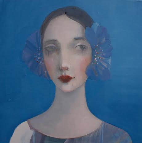 Kristin Vestgard Intuition oil on canvas 50 x 50 cm £ 2500