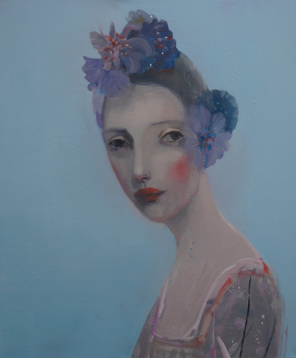 Kristin Vestgard One oil on canvas 50 x 60 cm S O L D