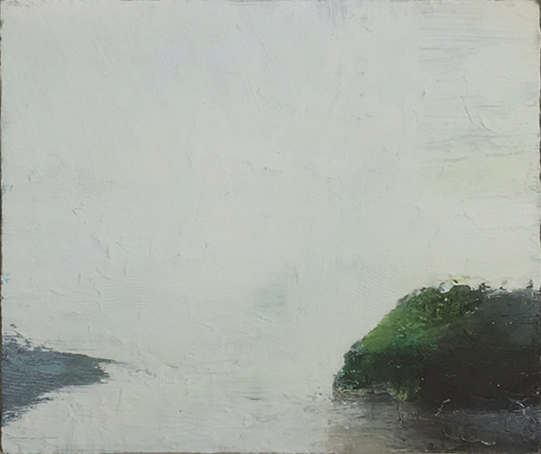 Gareth Edwards RWA Island 25x30 oil on board £ 875