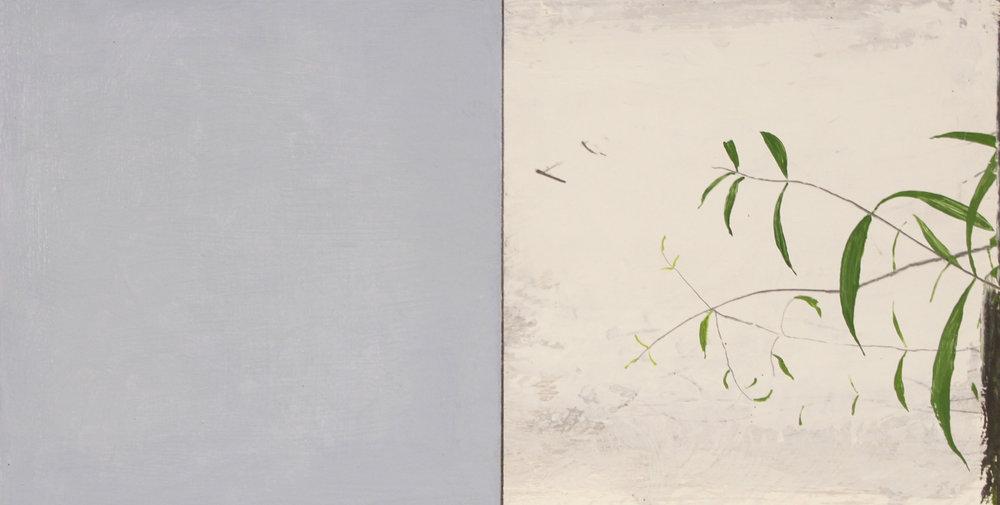 Paul Fry Morning Light 15 x 30 cm oil & graphite on wood panel S O L D