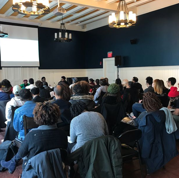 We had our session filled to capacity at the Black Portraitures Conference at Harvard University.