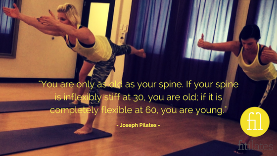 %22You are only as old as your spine. If your spine is inflexibly stiff at 30, you are old; if it is completely flexible at 60, you are young..png