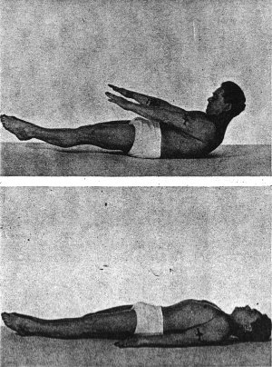 Joseph Pilates performing the Hundred - photo credit to www.josephpilates.net