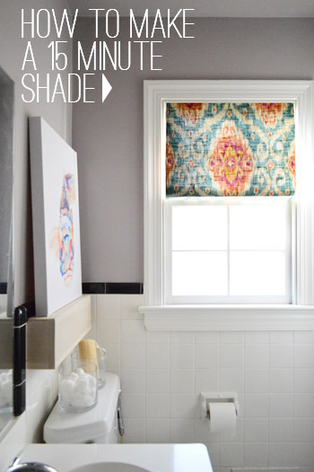 Window Shade Tutorial