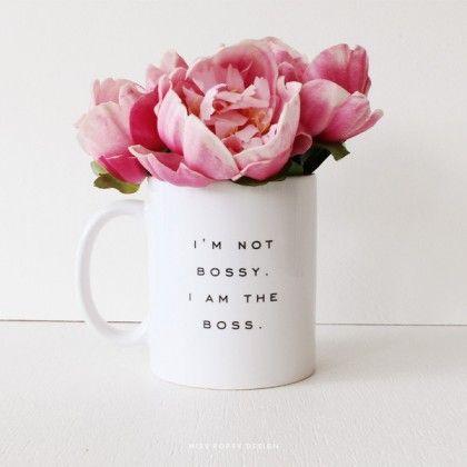 Miss Poppy Designs: Boss Mug