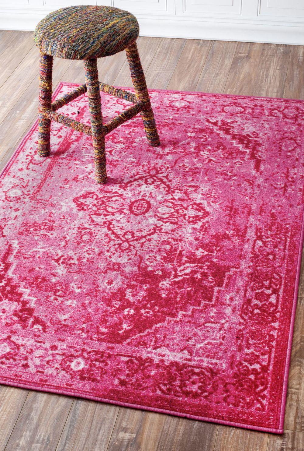 Ashlina Persian Overdyed Vintage Rug