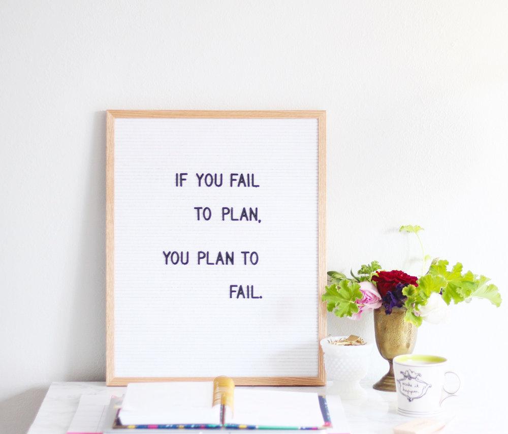 Letterfolk Simplified Planner