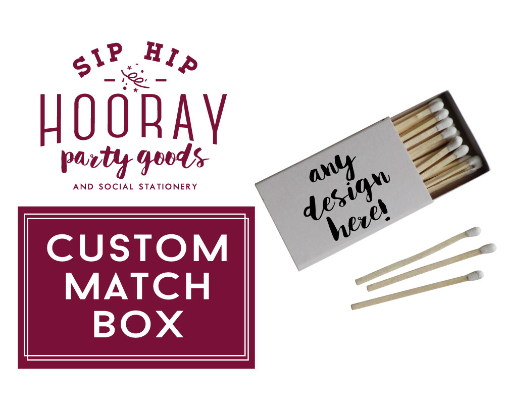 Wedding Matches. Wedding Custom Matches Custom Wedding Matches ...