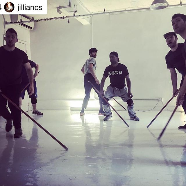 Let's Do That Hockey by Madhuri Shekar Workshop Presentation is tomorrow night at 7:30pm @royalfamilyproductions . Tickets $10 - link in bio!  #Repost @jilliancs with @get_repost ・・・ Got to help out on some choreo-schemes with @teamawesomerobot for Let's Do That Hockey by @madplays !! Whoosh, such lightning quick yet grounded-loving energy in this room.  #collaboration #playreading #broomsticks #skillz