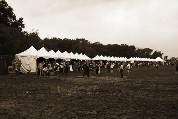White Tents- Austin Pysch Fest