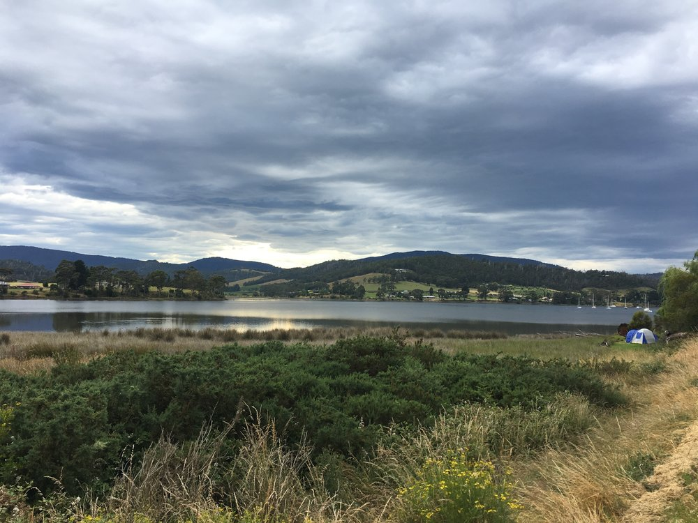 Huon valley on Friday Afternoon