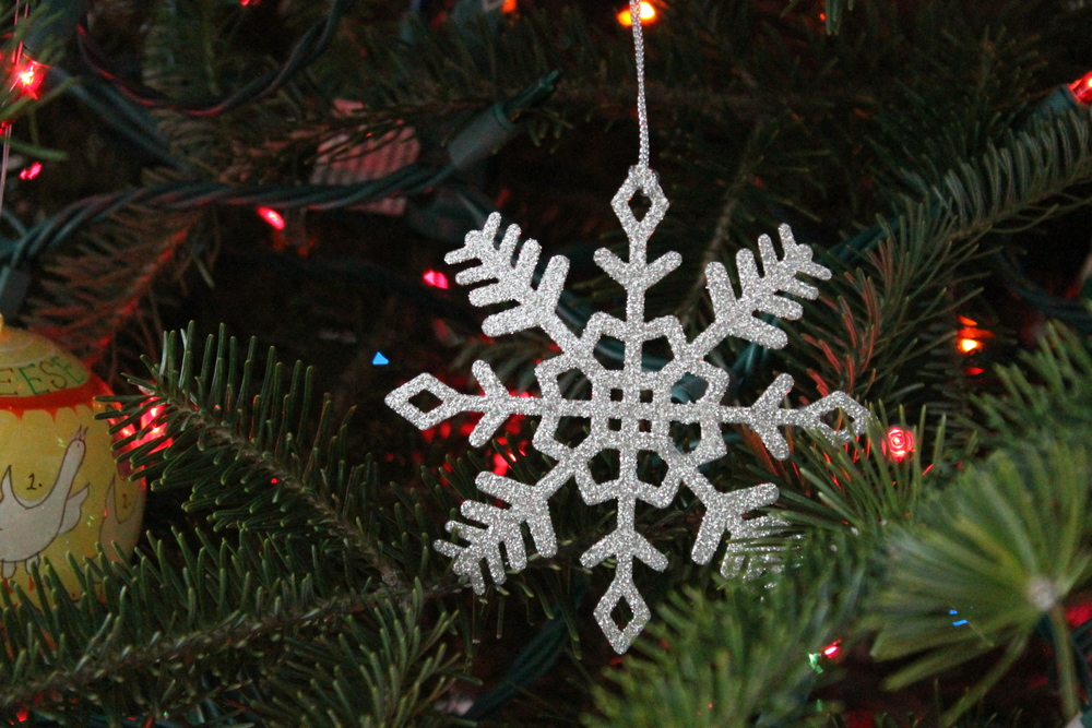 sparkling Snowflake Ornament