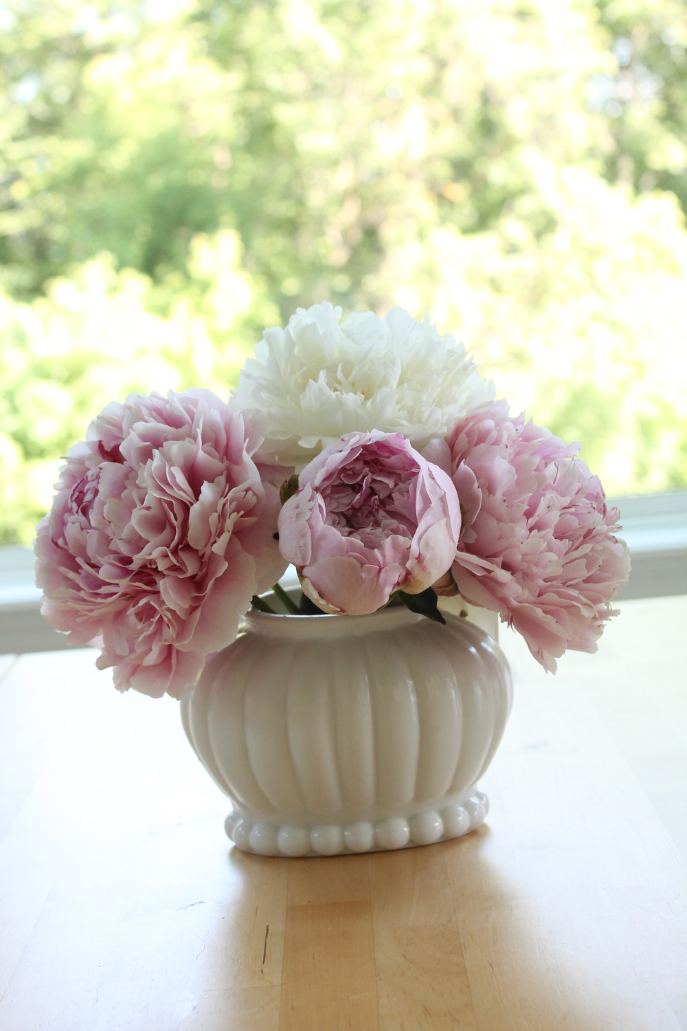 Peonies. So pretty!