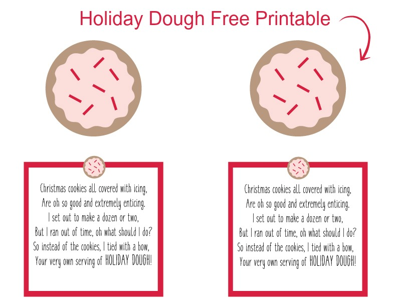 Christmas Money Printable. Free Printable for Holiday Cash