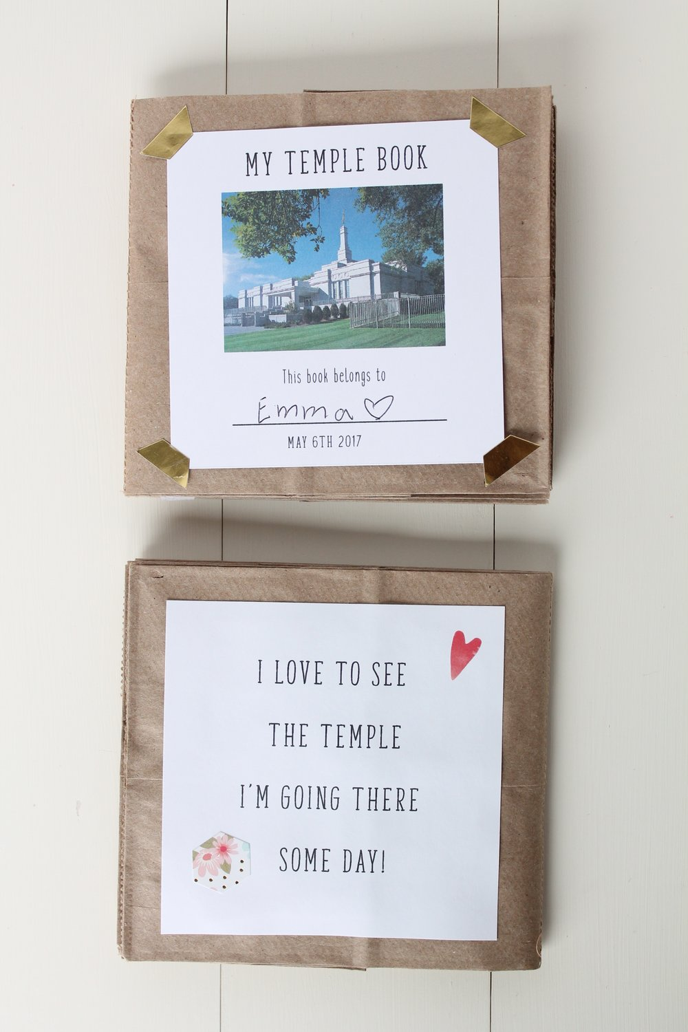 Free temple printable Primary temple day LDS