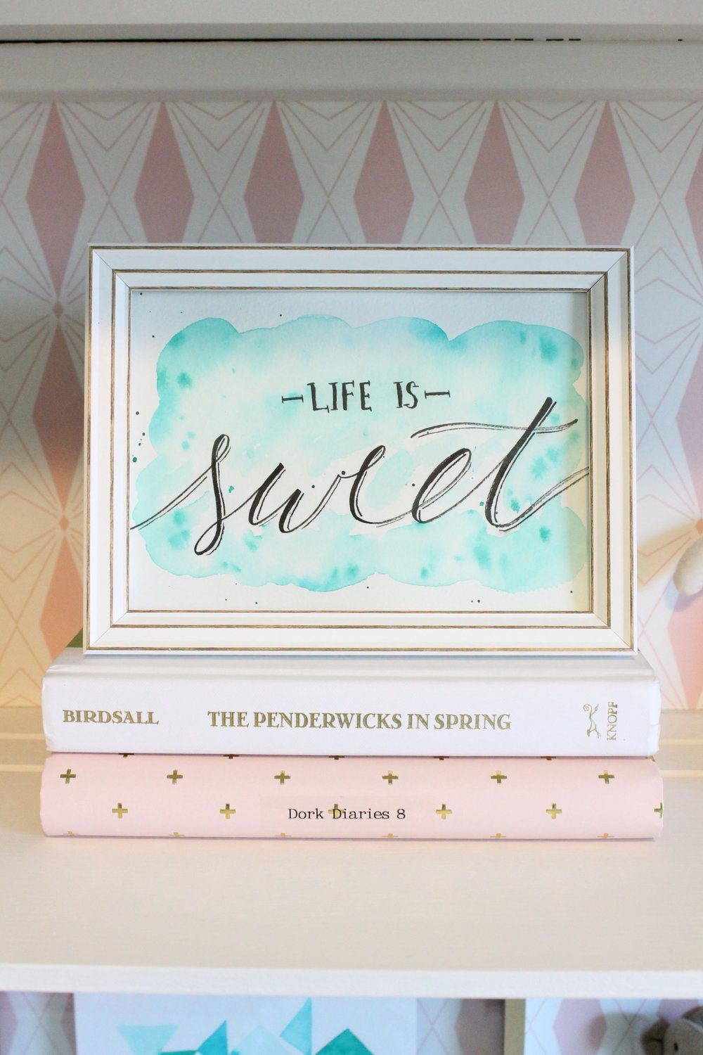 Life is Sweet painting by Tessie Fay