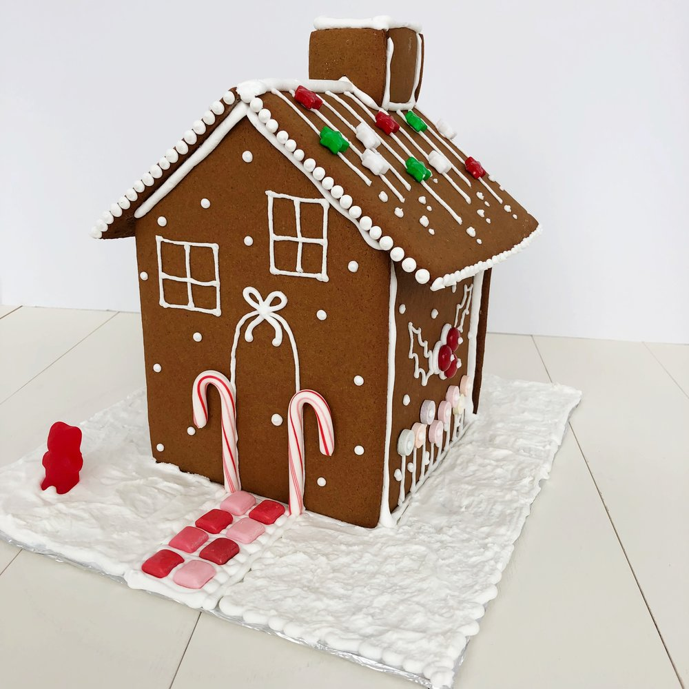 The Ultimate Gingerbread Houses Free Template And Recipe Tessie Fay