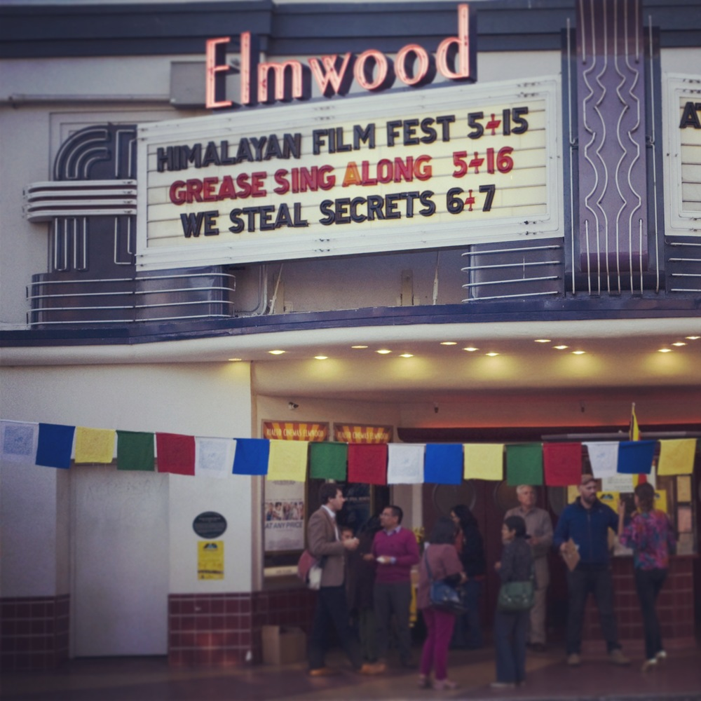 Opening Night of the First  Himalayan Film Festival.