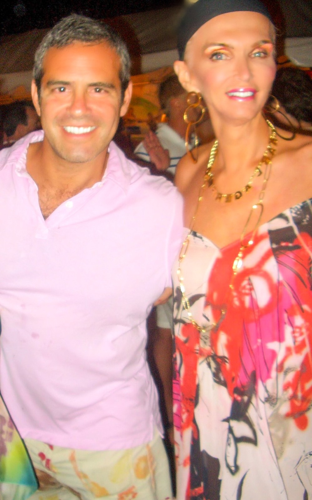 With The Boss, Andy Cohen
