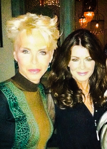 With Lisa Vanderpump #RHOBH