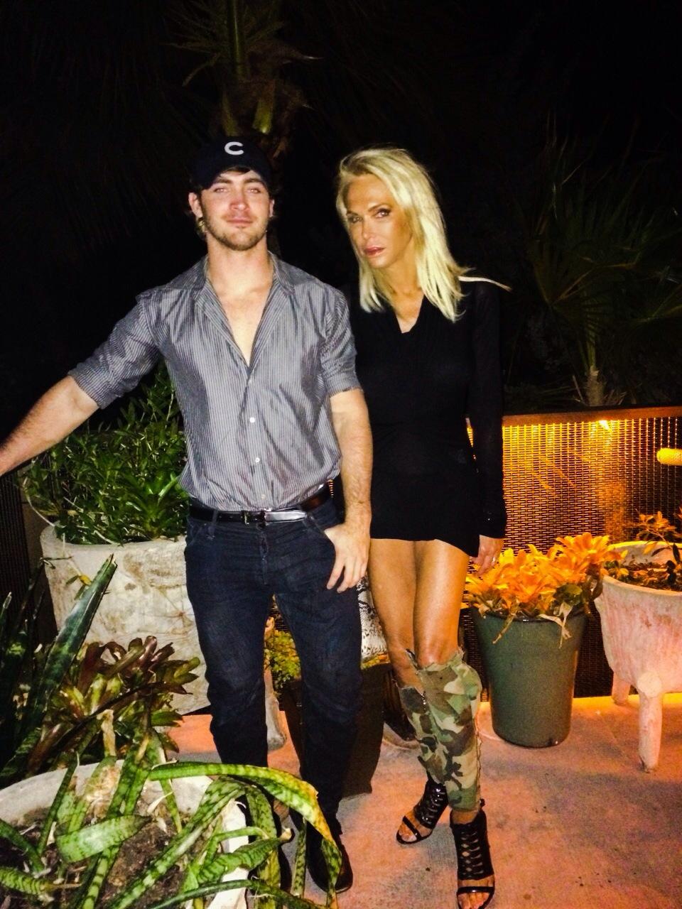 Corey and I Soho Beach House