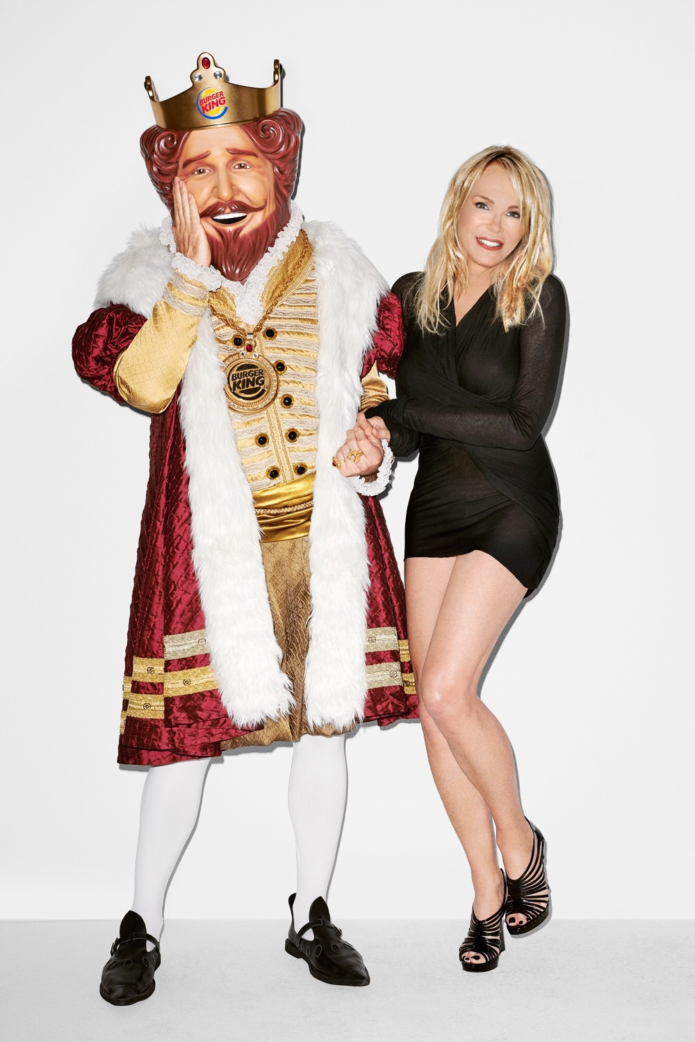 Terry Richardson photo shoot for Burger King campaign