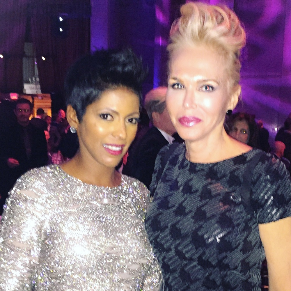 with Tamron Hall
