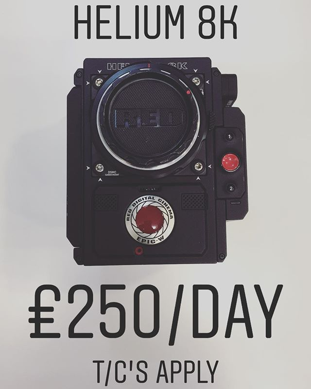 DID SOMEONE SAY 8k!!? Red Epic-W Helium 8k camera available for hire, £250/day. Must hired for a minimum for 4 days (operator also available ). Perfect for music videos, documentary shoots or short films. WE CAN ALSO MOUNT THE CAMERA TO OUR 18ft CAMERA CRANE FOR SOME EPIC MOTION! To book or for more information call 0121 572 3893 or visit www.photovideokithire.com #red #8k #4k #cinematography #epic #epicw #heliumsensor #helium #redcamera