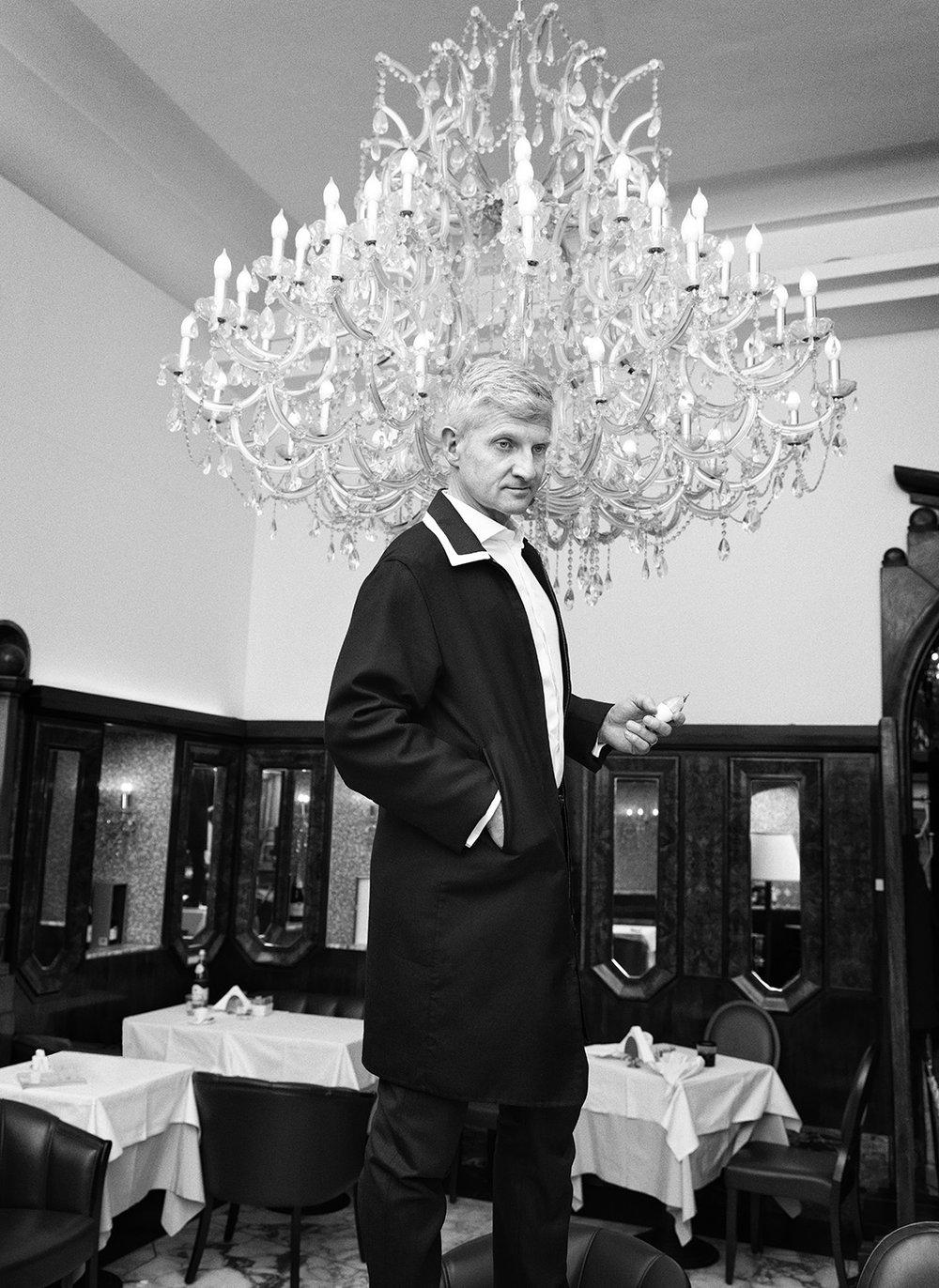 Andrea Illy –L'Uomo Vogue