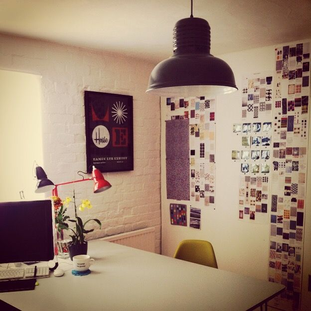 Tanya Paget's studio