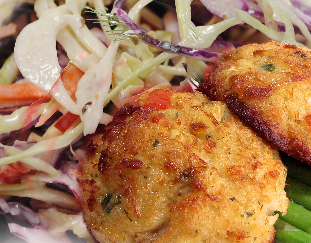 ALL NATURAL Gourmet Crab Cakes