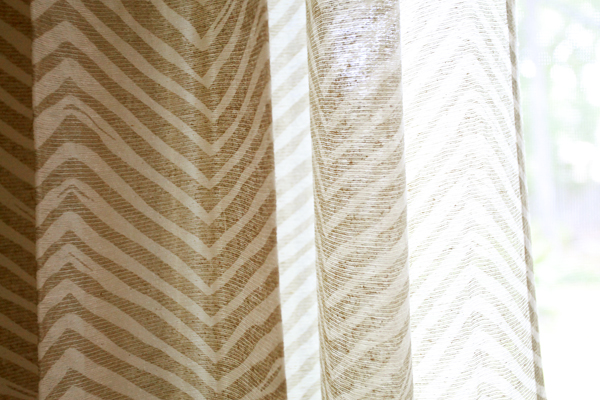 west elm sheer curtains