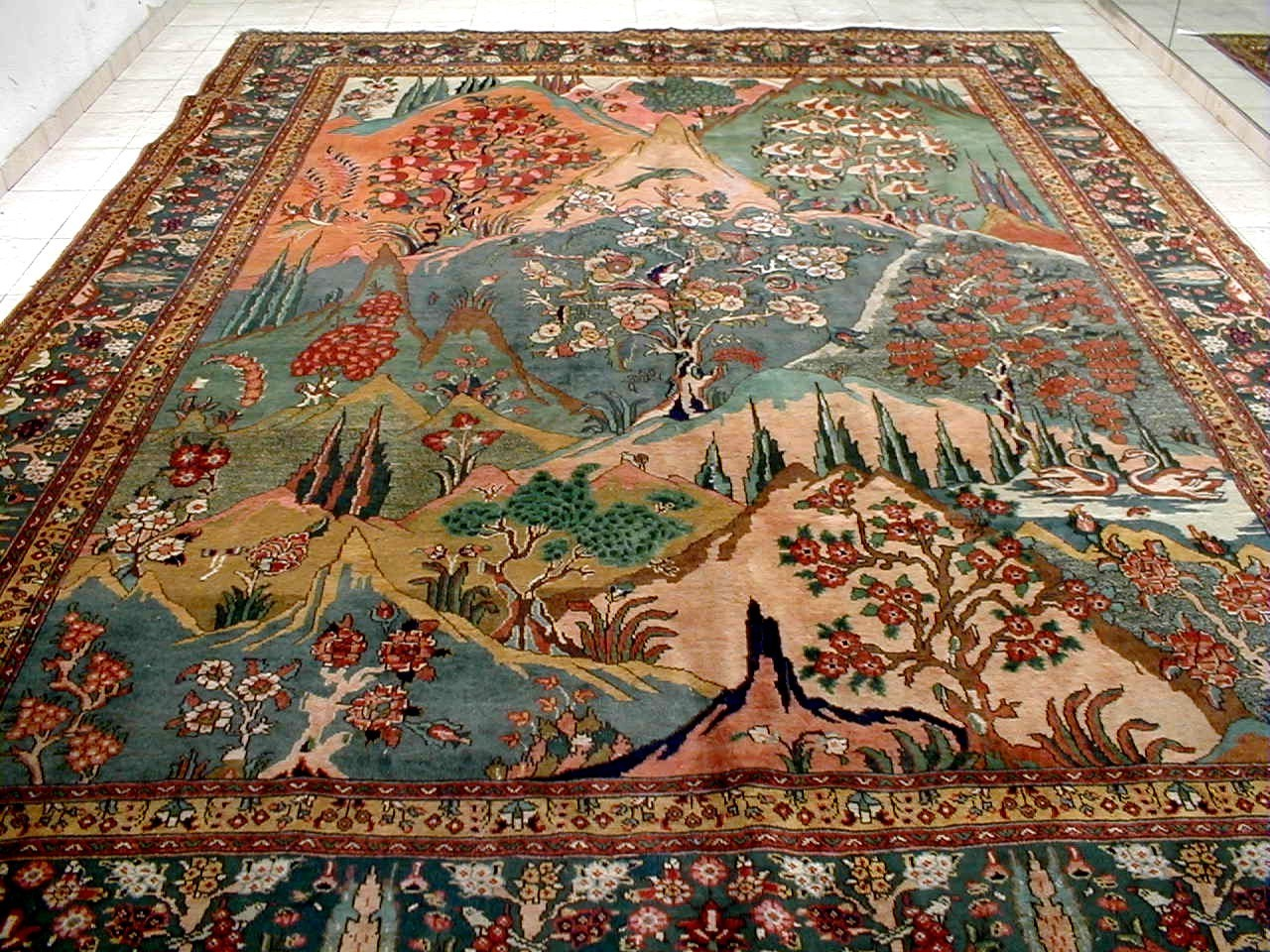 not does area apply rugs ebay colored scroll or runner rug orian watercolor multi itm