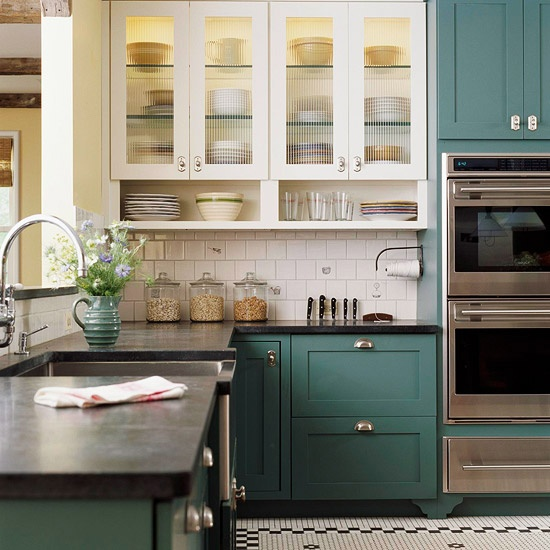 Superb Two Tone Kitchen Awesome Ideas