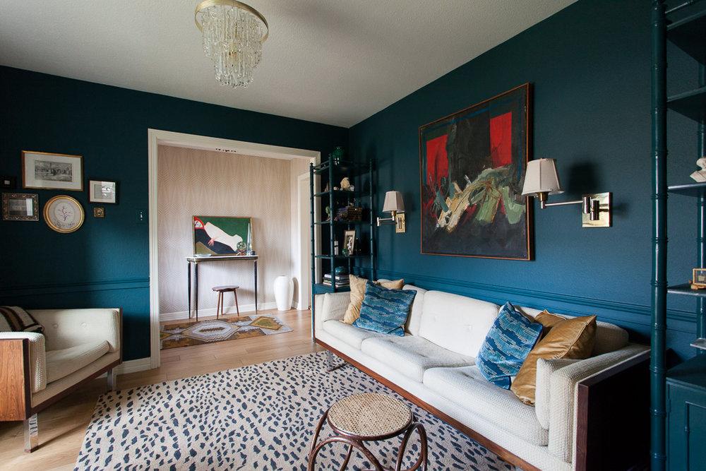 erin williamson design | one room challenge