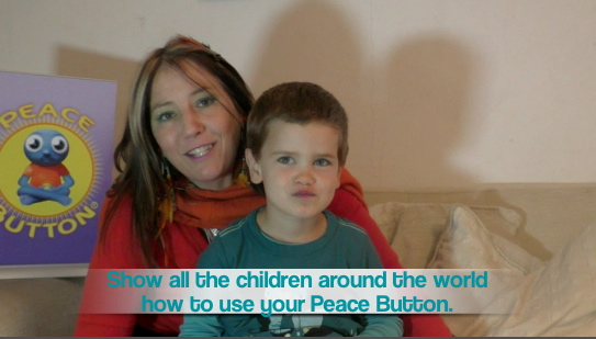 Matthew explains when he uses his Peace Button