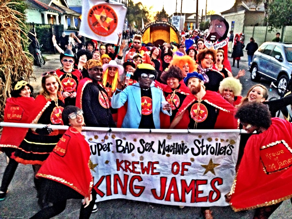 Krewe of King James: Super Bad Sex Machine Strollers