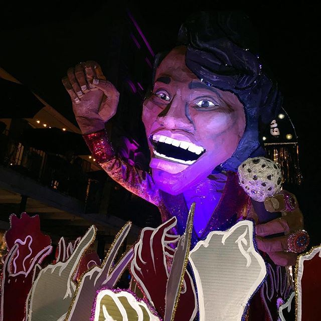 1 WEEK UNTIL WE ROLL! Watch for Krewe of King James: The Super Bad Sex Strollers next weekend w/ the krewedelusion parade. Stay til the end cuz we're the grand finale! @djsoulsister