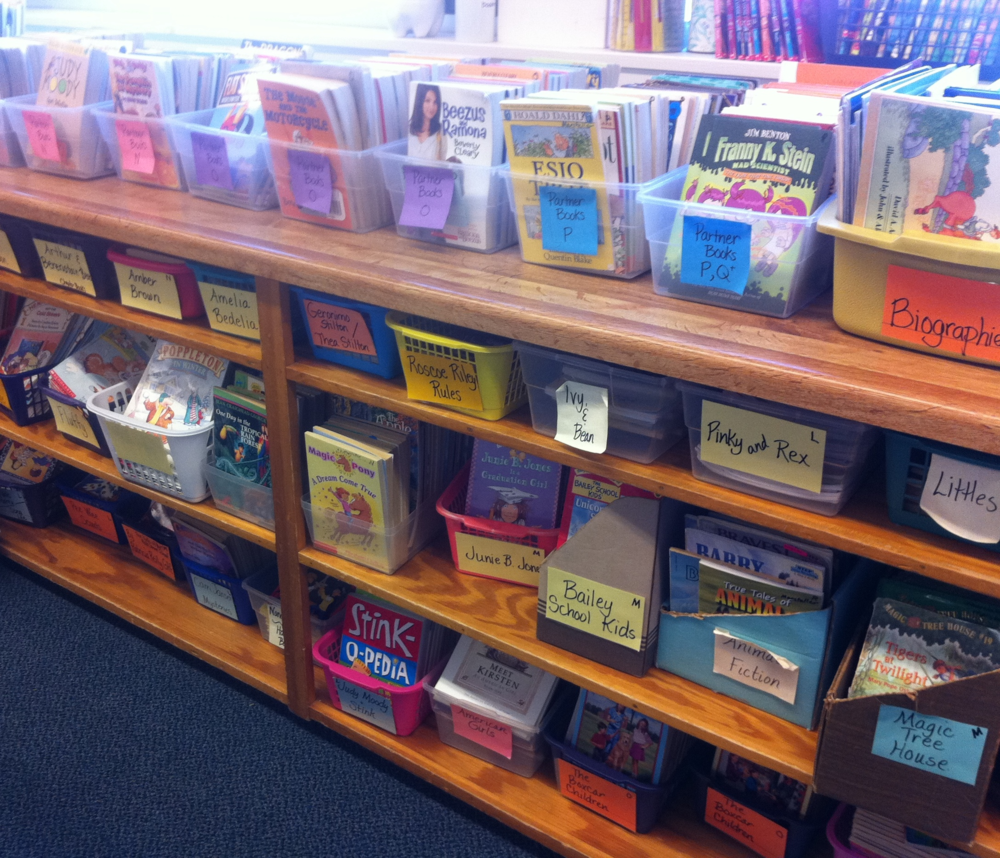 Third Grade Classroom Library Books To Support Reading Workshop