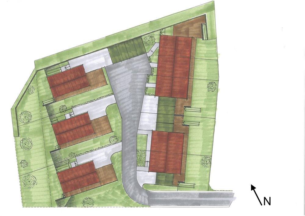 Bebauungsskizze Lageplan Nordpfeil.jpg