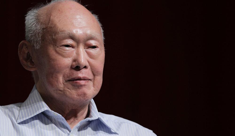 Lee Kuan Yew.  Source