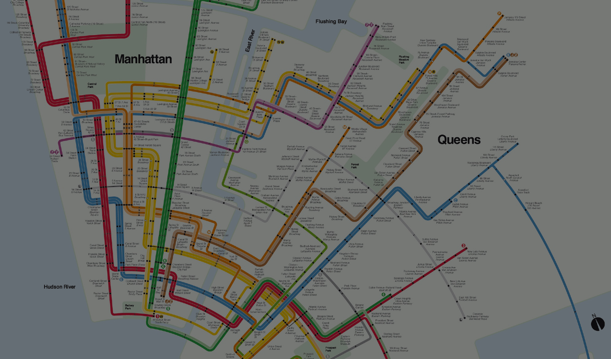 Subway Map Of Park Slope.Why Maps Lie To You David Perell