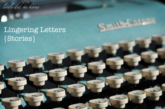 Lingering Letters Stories