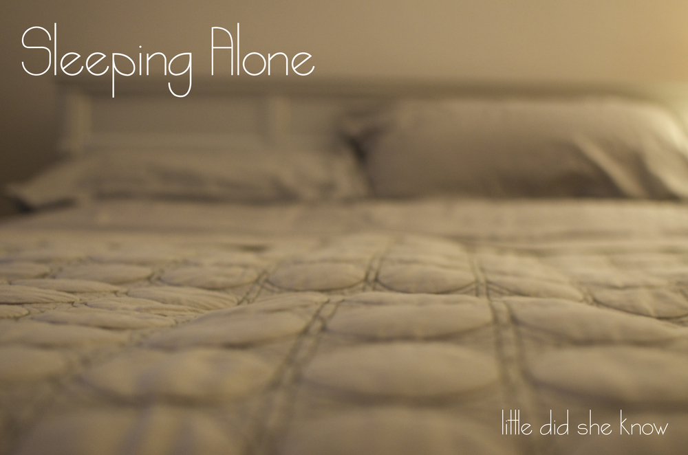 Sleeping Alone